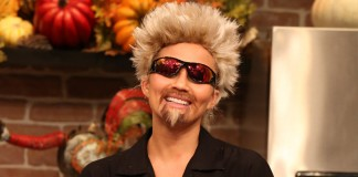 Chrissy Teigen Wears A Guy Fieri Costume for Halloween