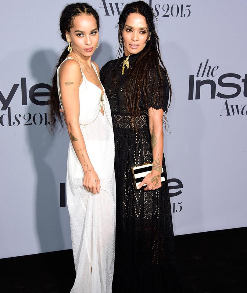 Kim Kardashian displayed her baby bump during the InStyle Awards Night!