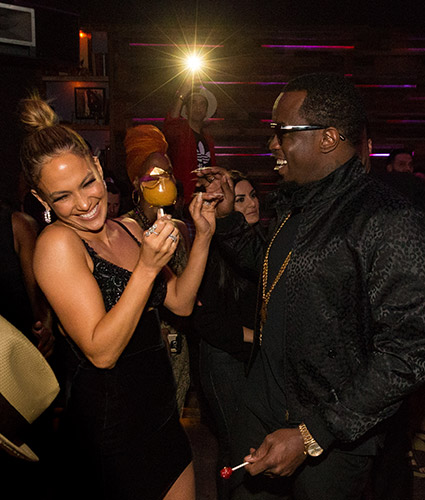 Jennifer Lopez And Sean Diddy