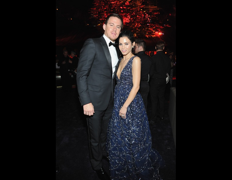 Channing Tatum and Jenna Dewan Tatum attend the 2016 InStyle And Warner Bros. 73rd Annual Golden Globe after-party in Los Angeles, California (January 11, 2016).