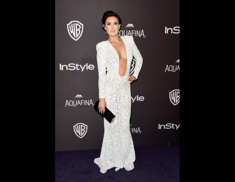 Rumer Willis attends the 2016 InStyle And Warner Bros. 73rd Annual Golden Globe Awards After Party (January 10, 2016).